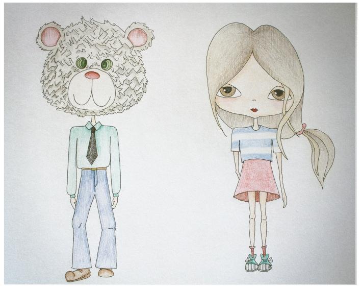 niña -osos